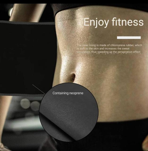 Men's and women's body building exercise with sweat protection waist bodybuilding training belt 2