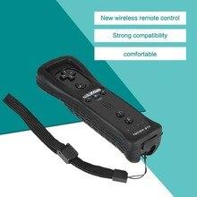 Профессиональный Ergonimic дизайн контроллер расположение беспроводной пульт дистанционного управления для NAND wii Белый Удобный пластик