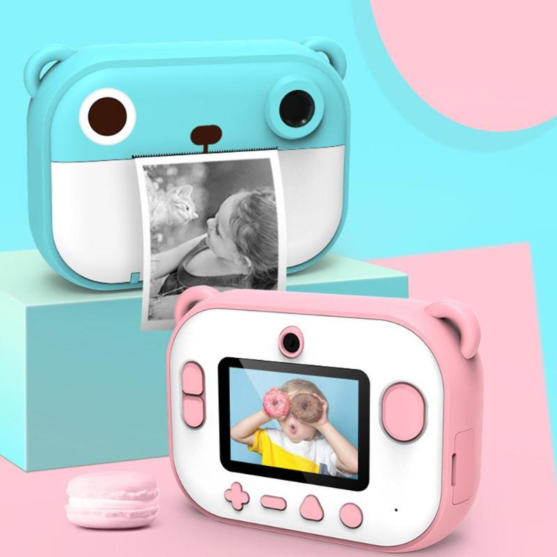 Children Digital Camera Develop Intelligence Endless Happiness Mini Multi-function Printing Video Instant Film Camera
