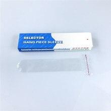 100 יח\קופסא שיניים חומרים חד פעמי בורר ידית שרוולים/אולטרסאונד scaler שרוולים