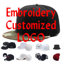 Custom Embroidery Logo Baseball Caps For Adult Children Flat Peaked Visor Hat Motor Car Logo Two Stone Snapback Cap Gifts YY141
