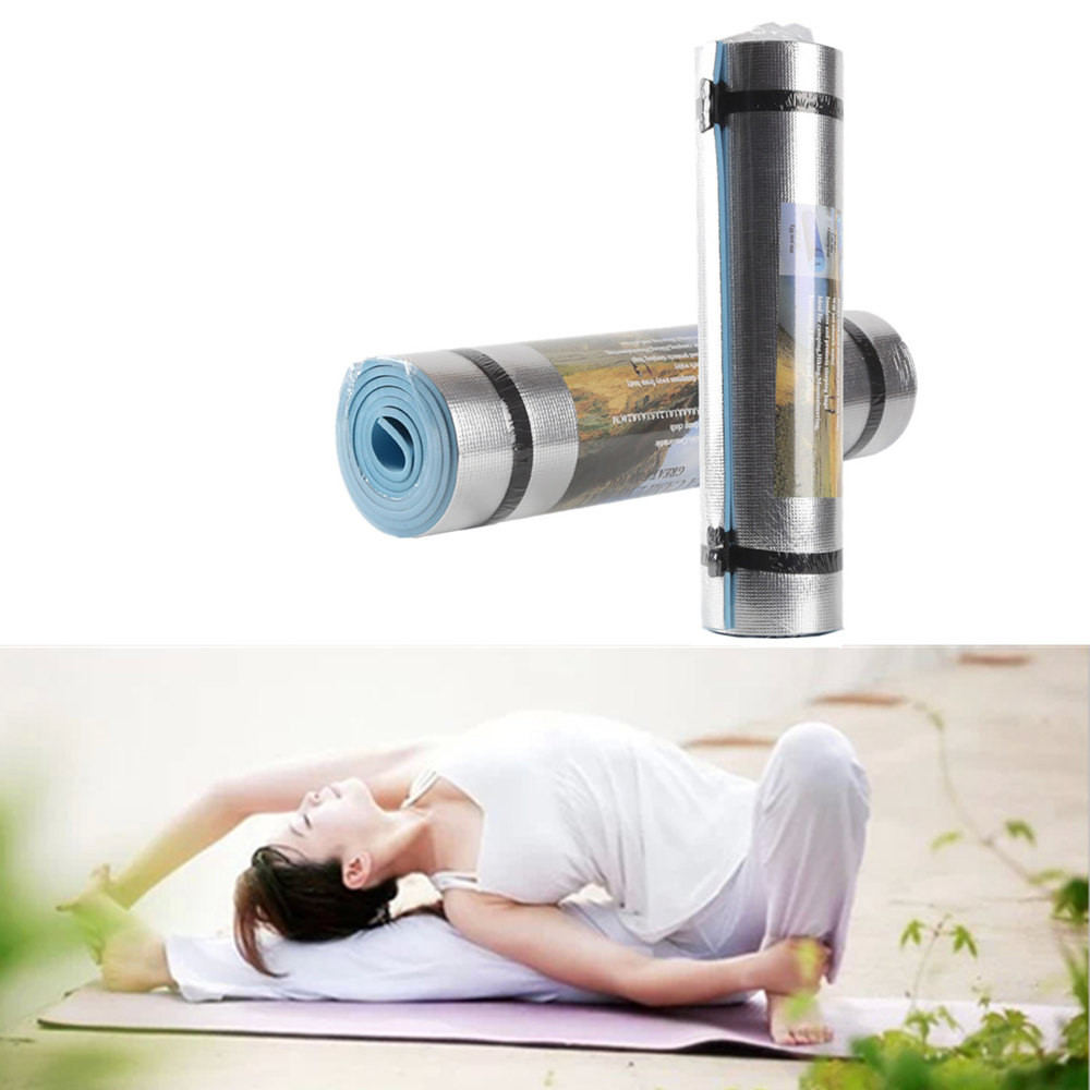 Best Selling Mat Aluminum Film Moisture-proof Yoga Mat Workout Exercise Gym Fitness Pilates Pad fitness mat esterilla yoga Mats