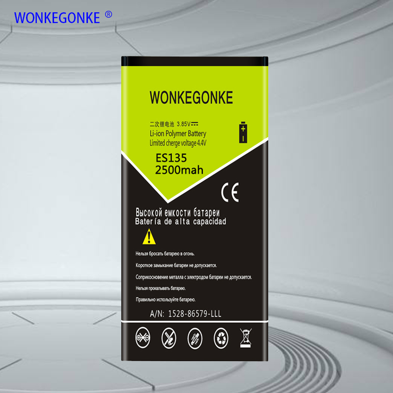 WONKEGONKE for DEXP Ixion ES135 Battery High quality mobile phone battery with tracking number 1 order image