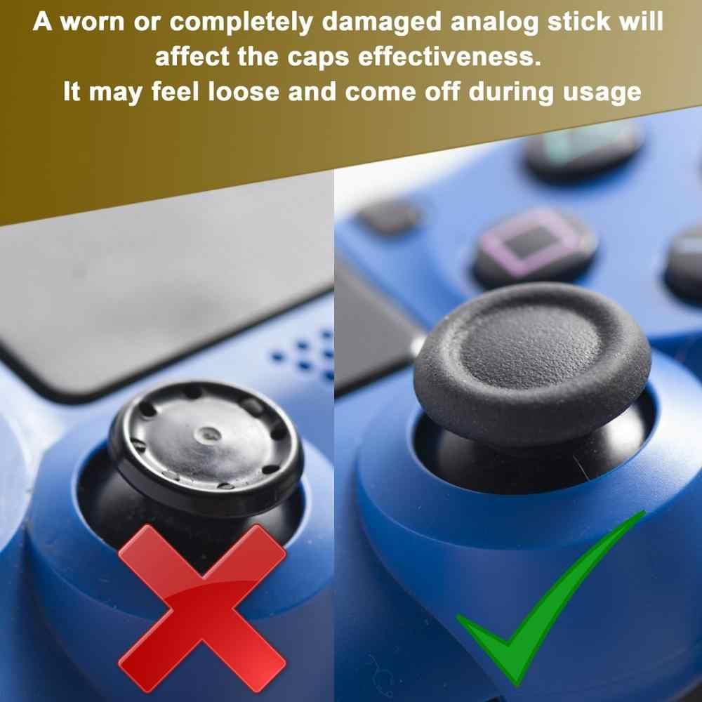 4 шт Силиконовые аналоговые ручки для джойстика для playstation 4 PS4 Pro Slim для PS3 контроллер Джойстик колпачки для Xbox 360 One