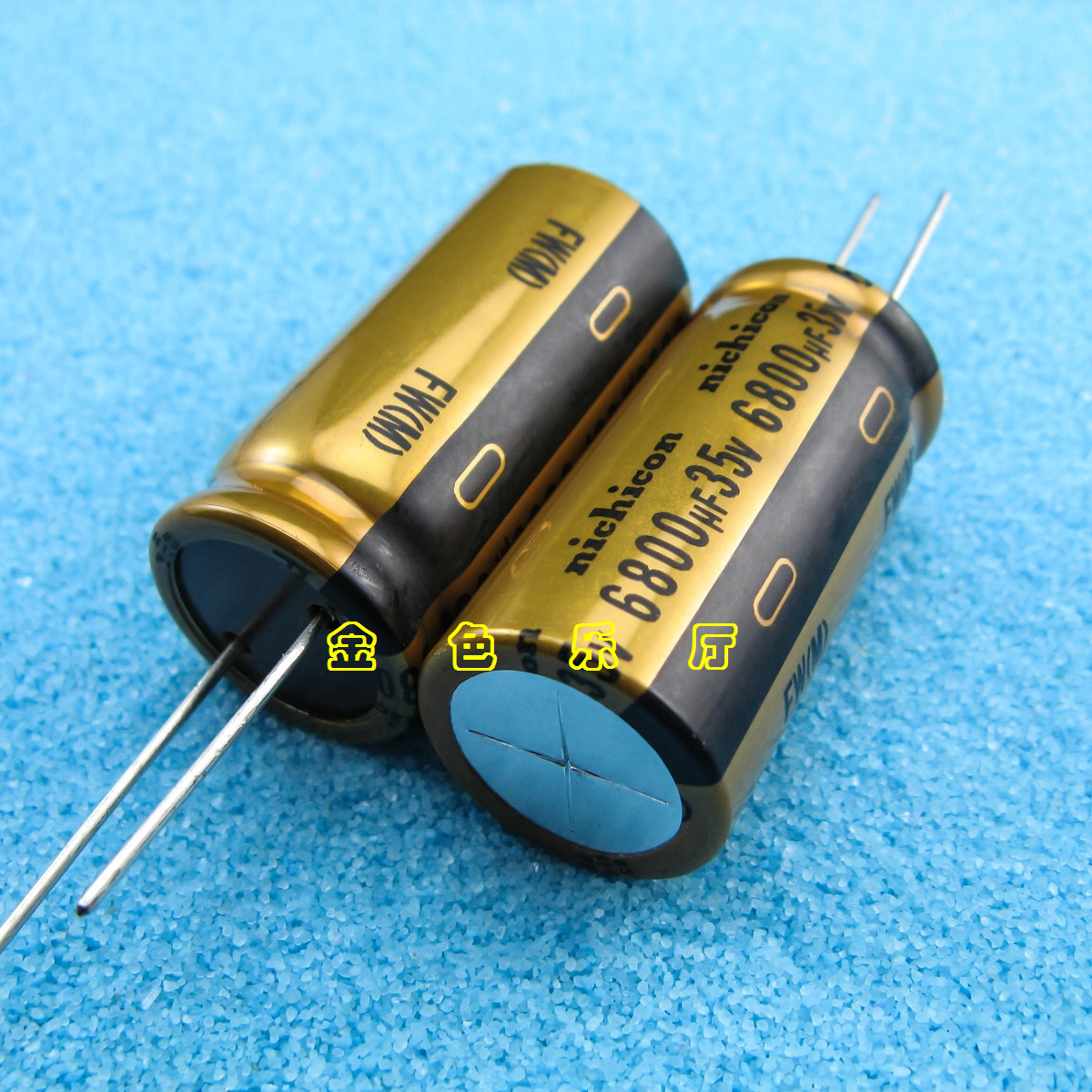 2pcs NEW NICHICON FW 6800UF 35V 20X41MM 35V 6800UF Audio Electrolytic Capacitor 35V6800uF Filter Amplifier 6800uF/35V