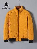 Pioneer Camp 2019 New Down Jacket For Men Short Winter Coat Anorak Thick Letter Print Parkas Men Down Jacket AYR908240