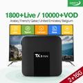 TX3 мини Франция арабский IPTV коробка Android 7 1 S905W четырехъядерный 1 год IPTV Франция арабский Бельгия Нидерланды Италия IPTV