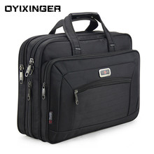 Mens Laptop Briefcase Brand Men Computer Handbags Waterproof Durable Nylon 15.6 Inch Laptops Bags Boys Shoulder Files Books Bag
