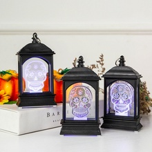Halloween New Night LED Light Decoration Props Bar Scene Layout Desktop Lights Accessories 1PC