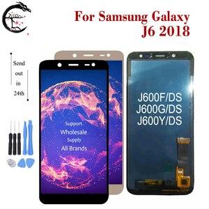 Image 2 - ЖК дисплей для Samsung Galaxy J4 + J415F LCD J6 + J610FN дисплей J4 J400 J6 J600 2018 экран сенсорный дигитайзер сборка J4 J6Plus ЖК тест
