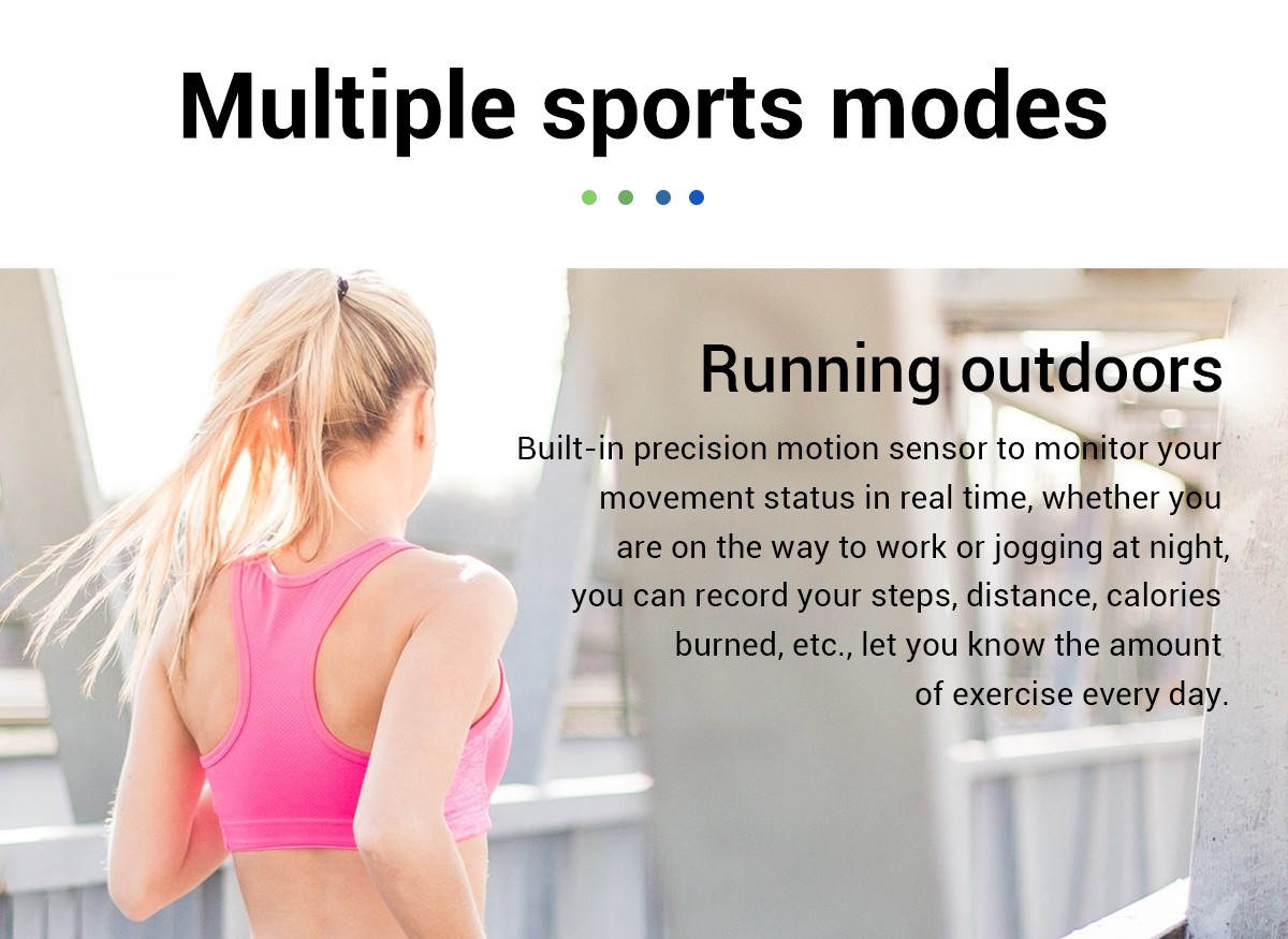 Real-time Weather Forecast Activity Tracker Heart Rate Monitor Sportswatch 18