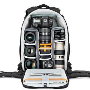 Image 5 - fast shipping Gopro Genuine Lowepro Flipside 400 AW  F400 II Camera Photo Bag Backpacks Digital SLR+ ALL Weather Cover wholesale