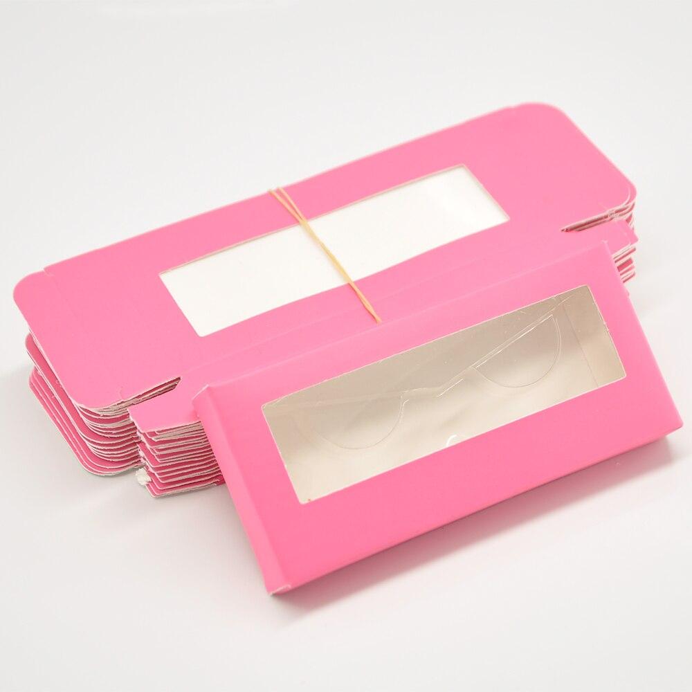 Caixa de cílios de papel por atacado