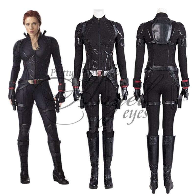 Marvel Super Hero Avengers Endgame Natasha Romanoff Black Widow Costume Cosplay Party Shoes Custom Made Movie Tv Costumes Aliexpress