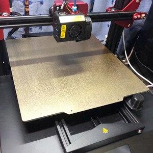 Image 5 - エネルギッシュな新パウダーコーティングされた pei (片側) 春鋼板 + 磁気ベース flexplate システム 3D プリンタ温床
