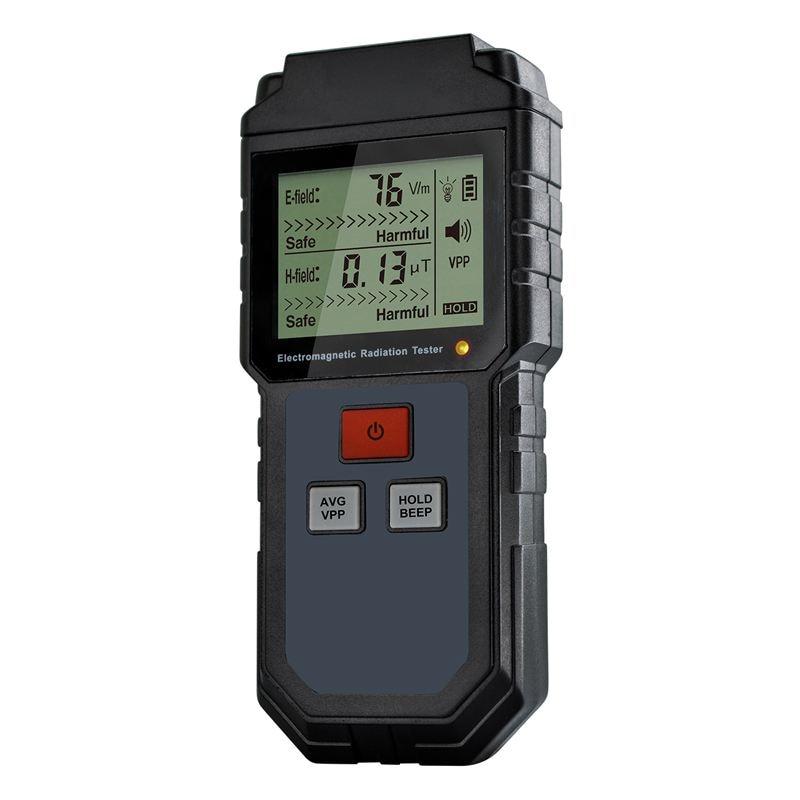 Electromagnetic Field Radiation Tester Emf Meter Handheld Counter Digital Dosimeter Lcd Detector Measurement For Computer Phone