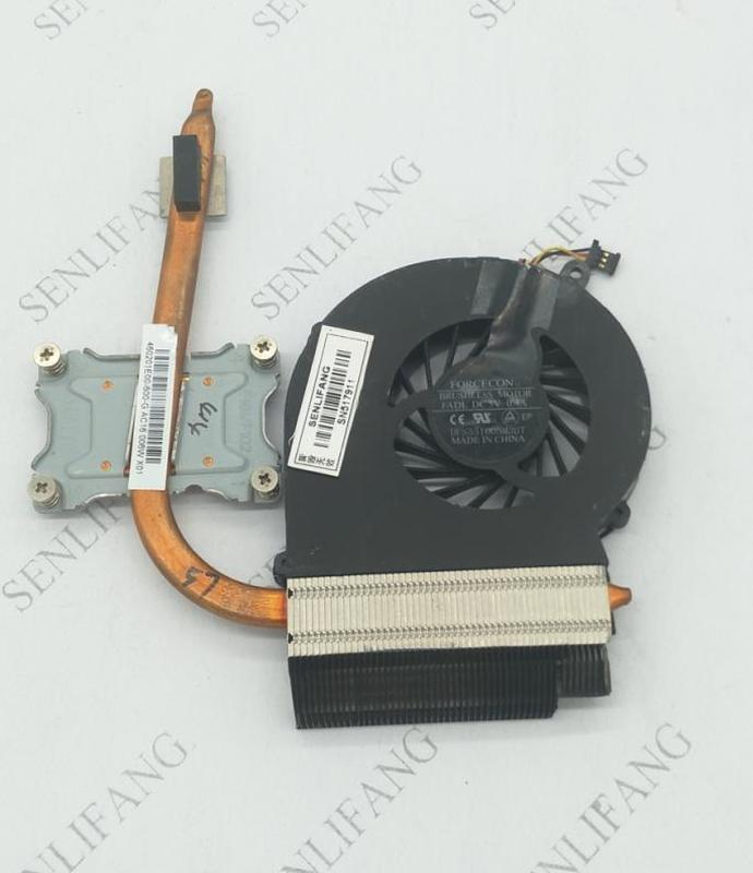 Cooler For HP 2000 CQ43 CQ57 630 Cooling Heatsink With Fan 646184-001 For INT CPU AND GL GM Chipset UMA Model