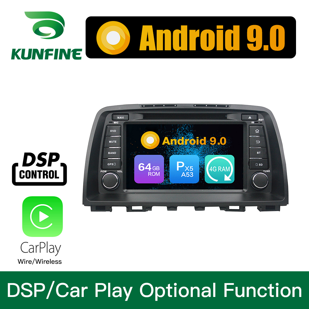 <font><b>Android</b></font> 9.0 Octa Core 4GB RAM 64GB Rom Car DVD GPS Multimedia Player Car Stereo for <font><b>CX</b></font>-<font><b>5</b></font> 2013 <font><b>2014</b></font> Radio WIFI image