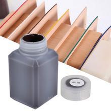 60 мл кожа крафт край масло кожа границы масло пластиковая бутылка DIY ручной инструмент для запечатывания кожаных краев