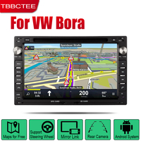Android 2 Din Auto Radio DVD For Volkswagen VW Bora 2002 2003 2004 2005 2006 2007 2008 2009 2010 Car Multimedia Player GPS WIFI