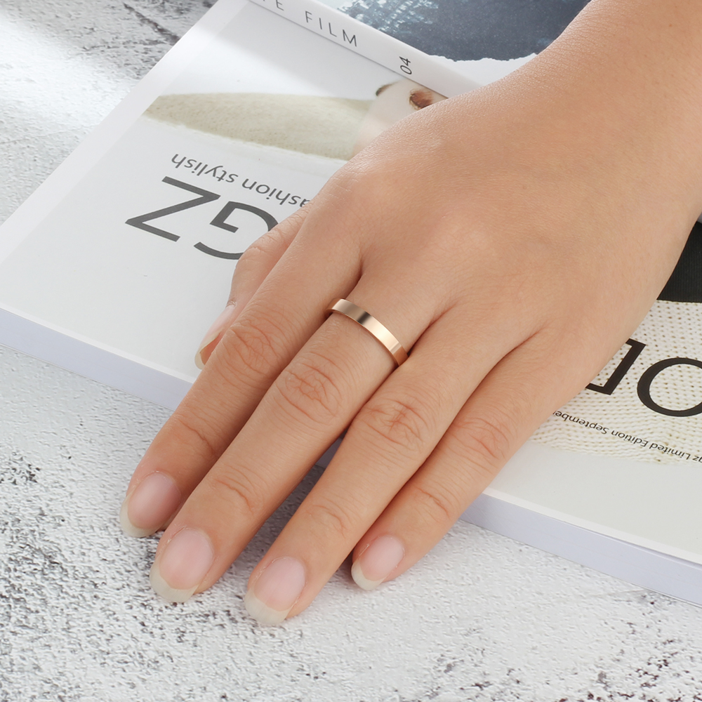 Personalized Custom Engraved Name Open Rings for Men Women 3 Colors Promise Ring Wedding Band Valentines Mothers Gift