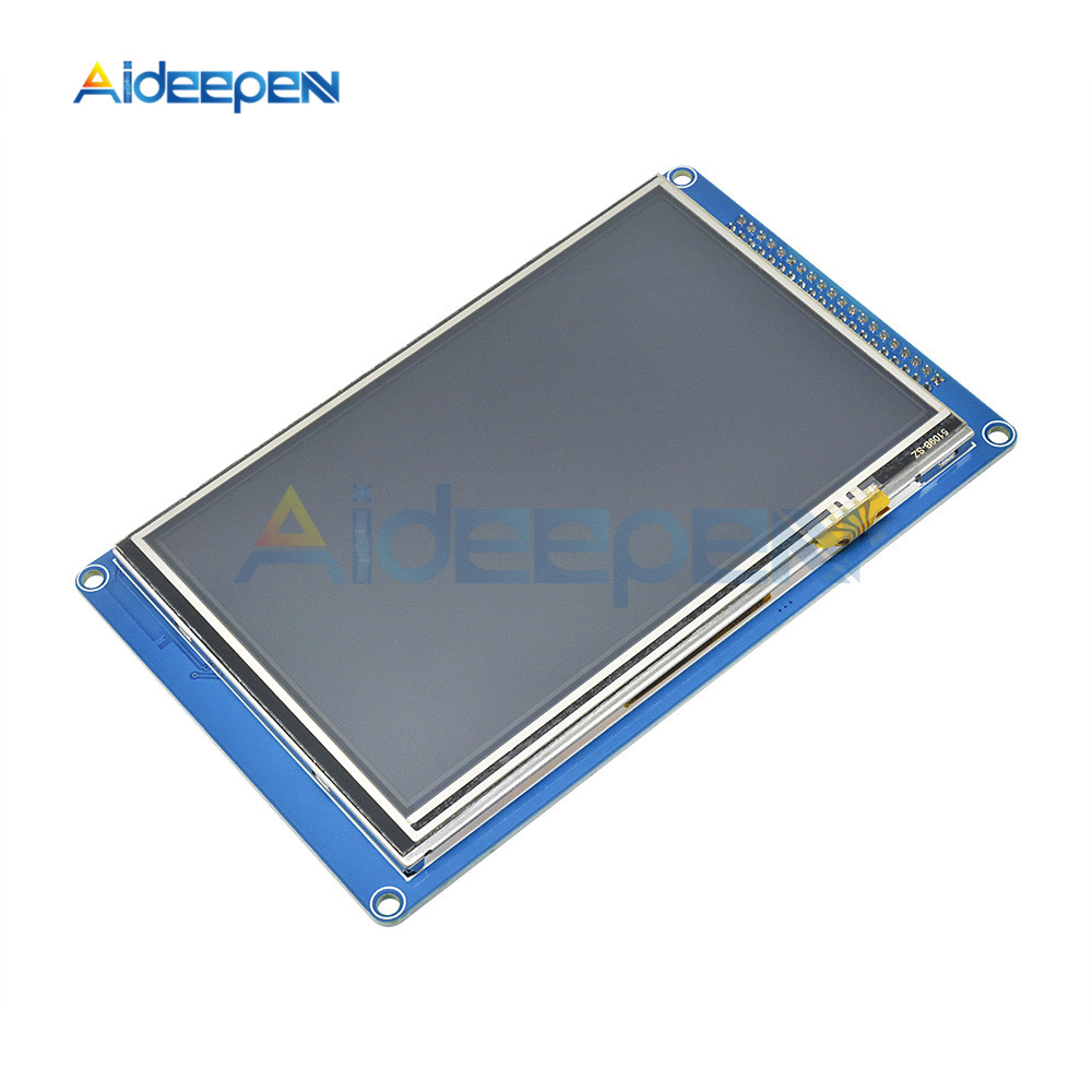 """5.0"""" 5.0 inch 800x480 Touch Screen TFT LCD Module Display Touch Panel + SSD1963 For 51/ AVR/ STM32 800*480 LCD Display Module"""