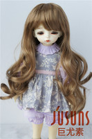 JD148 1/8 1/6 Cute long curly BJD synthetic mohair doll wigs for size 5-6 inch 6-7inch doll Fashion doll wig on sale