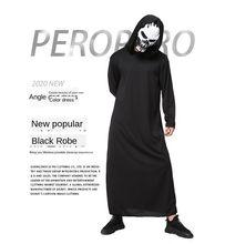 Halloween men's clothing cloaks skeletons necromancer demon