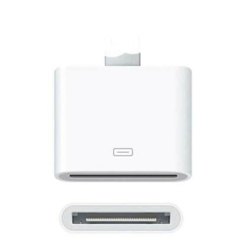 30pin Female To Male Adapter For IPhone/iPad/iPod/iHome Sounddock/MacBooks/computer/tablet Accessories+