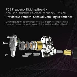 Image 5 - KZ ZS10 PRO 4BA + 1DD Hybrid HIFI Metall Headset In ohr Kopfhörer Sport Noise Cancelling Headset AS10 BA10 ZST ZSN PRO ES4 T2 AS16