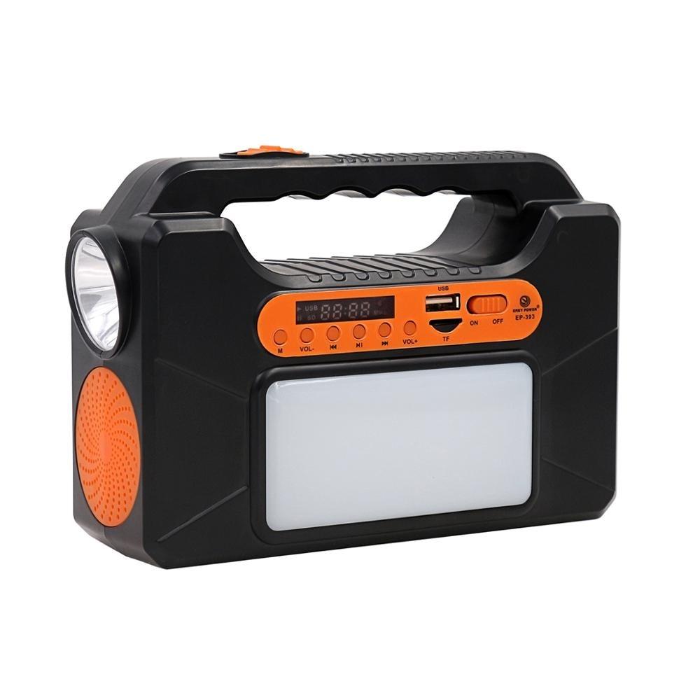 Light Speaker Spelen Lamp Muziek Lamp Smart Draadloze LED Bluetooth speakers met zonnepaneel - 2