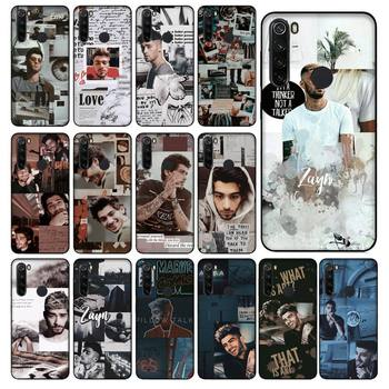 Babaite One Direction Zayn Malik Phone Case for Xiaomi Redmi 5 5Plus 6 6A 4X 7 8 Note 5 5A 7 8 8Pro image