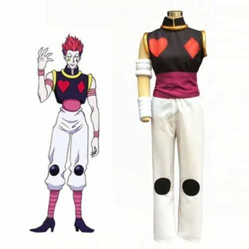 Anime Hunter X Hunter Hisoka Cosplay Costume Halloween Chrismas Carvinal Party Costumes For Women Men