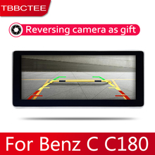 Android 2 Din Car radio Multimedia Video Player auto Stereo GPS MAP For Mercedes Benz C Class C180 2007~2014 Media Navi цена
