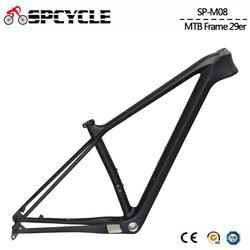 2020 nuevo cuadro de bicicleta de montaña de carbono de estímulo MTB 29er cuadro de bicicleta de montaña de carbono 148*12mm BSA carbono MTB cuadros de bicicleta 15/17/19