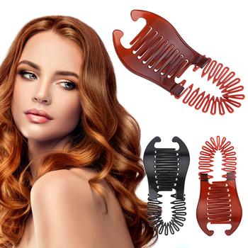 1PC plastikowe małe elastyczne gumka do włosów gładkie bez ciągnięcia włosów opaski do włosów opaski gumowe Braides gumka do włosów dziewczyny opaski do włosów narzędzia tanie i dobre opinie ELECOOL CN (pochodzenie) 16cm*6 5cm*1cm Z tworzywa sztucznego grzebień Hair Rope Dropshipping Wholesale