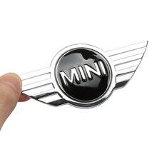 3D автомобильный Стайлинг наклейка металлический корпус задний значок задней двери для BMW Mini Cooper 2011 2012 2013 R56 R50 R53 F56 F55 R60 автомобильные аксессуары