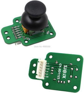 Image 4 - joystick Arcade Game Controller 3D Gamepad Analog Stick Sensor Fly Joystick USB Encoder Cable for PC MAME PS3 Android