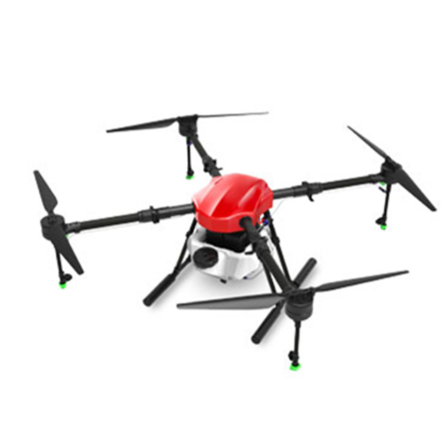 EFT E410S Agricultural spraying drone 1393mm wheelbase fold frame E410 brushless water pump long rod sprayer with power system