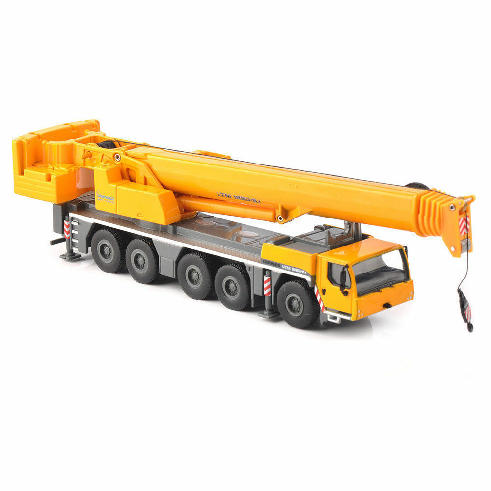 Tonkin 1/87 LTM 1250-5.1 Mobilkran Mobile Crane Diecast Model Alloy Toy Collection