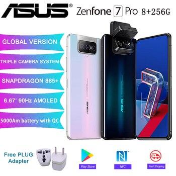 Купить Смартфон ASUS Zenfone 7 Pro глобальная Версия 8 ГБ ОЗУ 256 Гб ПЗУ Snapdragon 865/865Plus 5000 мАч NFC Android Q 90 Гц