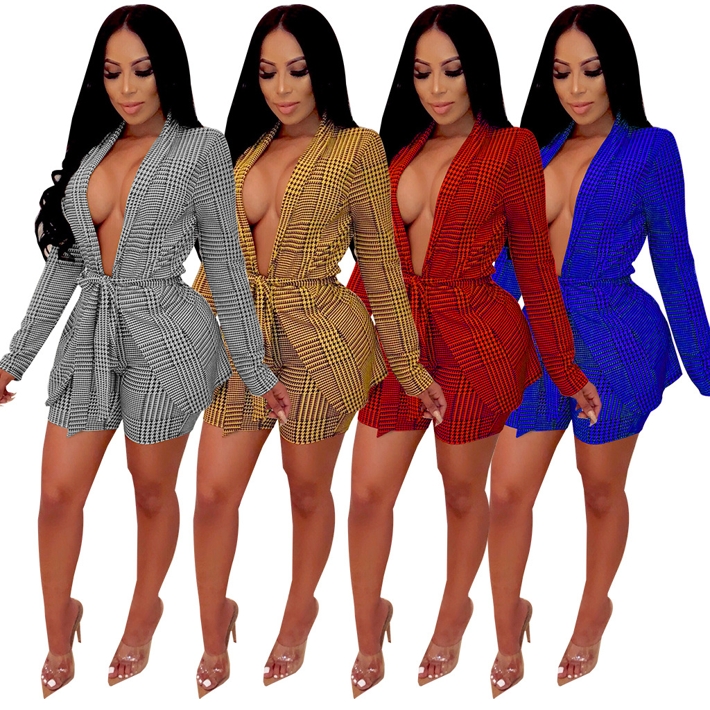 African Clothes Plus Size 2019 Striped Leisure Two Piece Set Suits Women Two Piece Outfits Top And Shorts Matching Sets Womens C