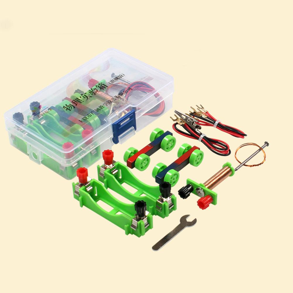 DIY Electromagnet Model Kit Physical Experiment Educational Science Kids Toy DIY Assembled Electronic Components Children's Toys