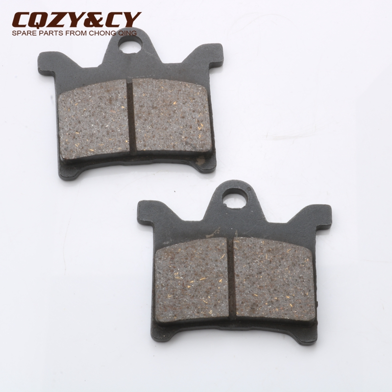 Scooter Front Brake Pad for HONDA WH100T GCC100 <font><b>SCR100</b></font> SPACY100 Stock image