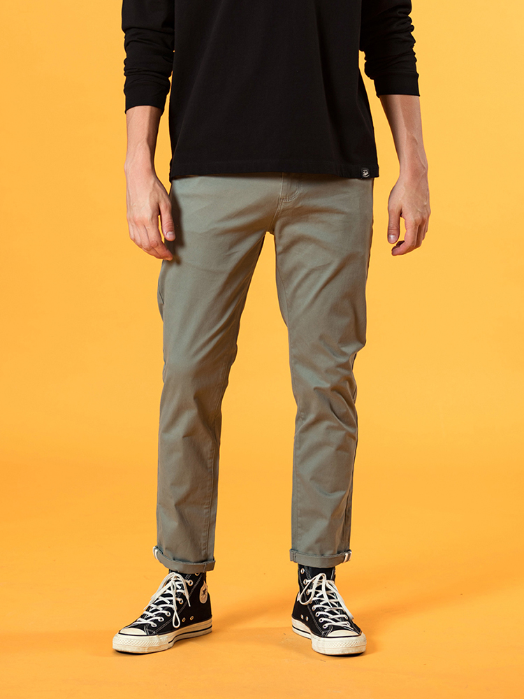 SIMWOOD Casual Pants Clothing Trousers Slim-Fit Chinos Autumn Male Winter Plus-Size Fashion