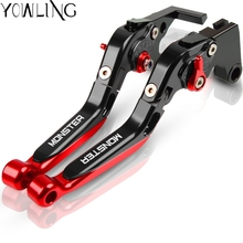 Аксессуары для мотоциклов Регулируемый рычаг ручки для Ducati MONSTER 821 MONSTER/Dark/Stripe тормозной рычаг сцепления