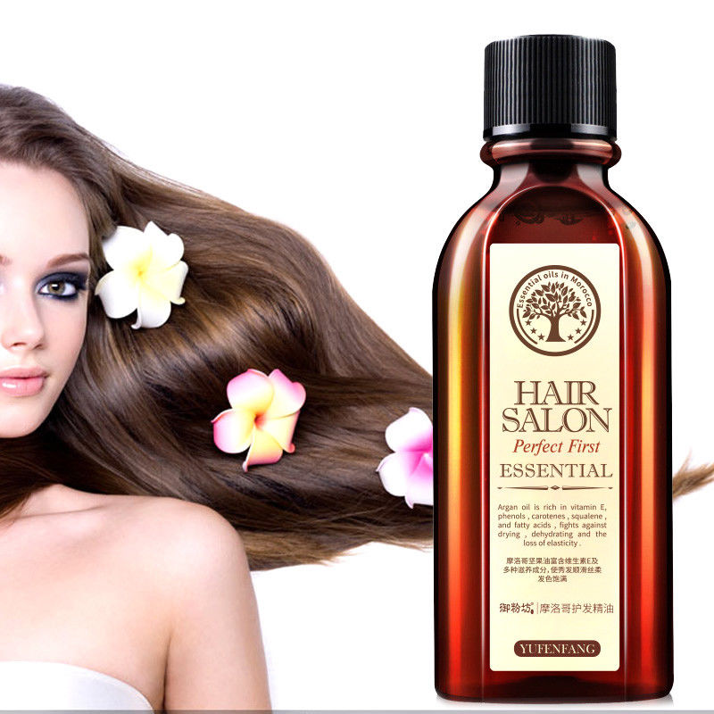 Hair Care Essential Oil Care Moisturizing Soft Hair 6 Pure Argan Nut Hair Oil