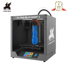 Gratis Verzending Flyingbear-Ghost 5 Volledige Metalen Frame Hoge Precisie Diy 3d Printer Kit Imprimante Impresora Glas Platform