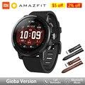 Amazfit Stratos Smartwatch глобальная версия приложения Ver 2 с gps PPG пульсометром 5ATM водонепроницаемые спортивные умные часы