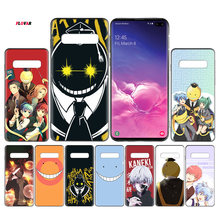 Ansatsu Kyoushitsu Anime Black TPU Case Cover For Samsung Galaxy Note 8 9 10 10+ S8 S9 S10e Plus 5G A30 A50 A70 A30s A50s Coque(China)